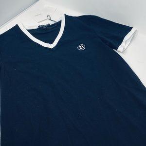 BALMAIN**Men's Black T-Shirt**Med. $425